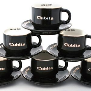 Cubita Espresso Cups and Saucers